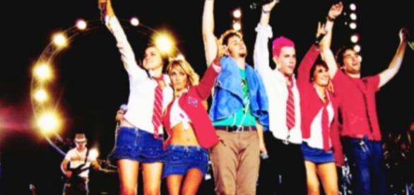 RBD em seu último show, em 2008