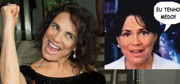 Regina Duarte tem medo da situação atual do Brasil