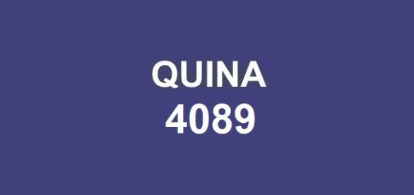 Resultado da Quina 4089: prêmio de R$ 2,4 milhões será sorteado nessa sexta-feira (20).