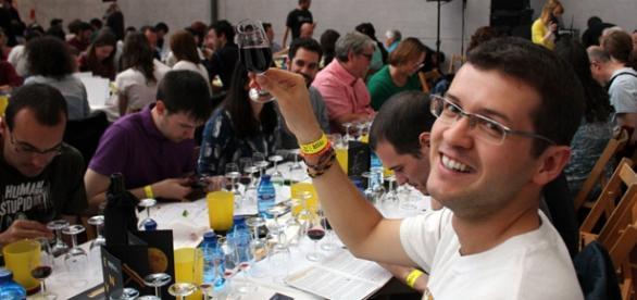 Celebración de la cata popular de los Premios Envero