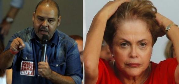 CUT e Dilma Rousseff - Foto/Montagem