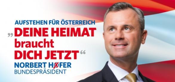 El candidato del FPO, Norbert Hofer.