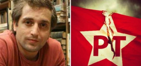 Gregório Duvivier e Partido dos Trabalhadores