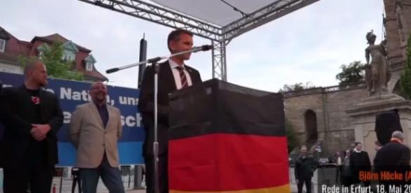 Manifestacja AfD 'Nasz kraj, nasza kultura, nasza decyzja'