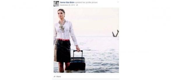 Postagem da comissária de bordo da EgyptAir é considerada uma premonição por internautas.