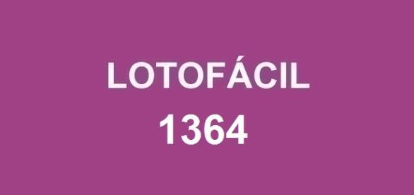 Resultado da Lotofácil 1364 divulgado nessa sexta-feira! Prêmio de R$ 1,7 milhão sorteado no concurso.