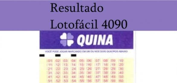 Resultado do jogo da Quina 4090