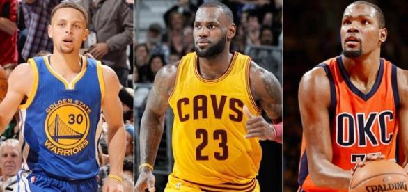 Warriors, Thunder, Cavs y Raptors peleará por un puesto en las finales de la NBA