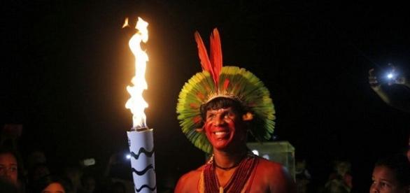 A tocha continua no estado da Bahia