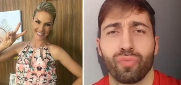 Ana Hickmann e Rodrigo de Pádua