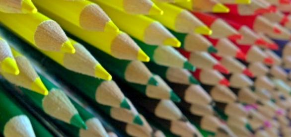 Colored pencils via Flickr Mike Tungate CC2.0