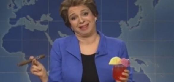 Dilma vira chacota na TV americana