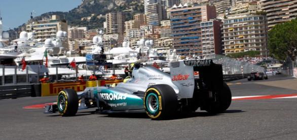 Imagen del circuito urbano de Monaco