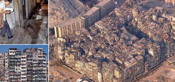 Kowloon Walled City- mahalaua fără legi, cel mai aglomerat loc din lume
