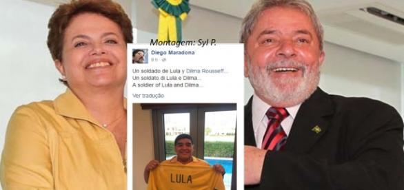 Maradona: 'Un soldado de Lula y Dilma'