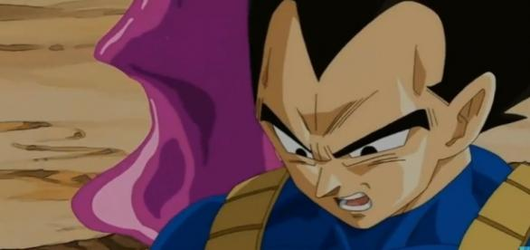 vegeta absorbido dragon ball super