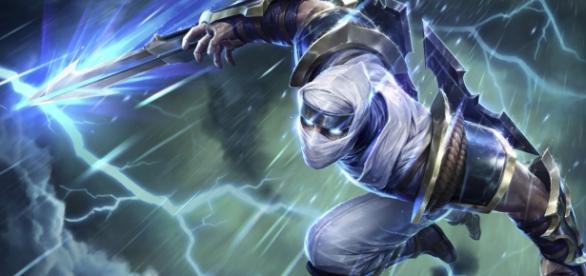 Zed, asesino del League of Legends que está arrasando en estos últimos parches.