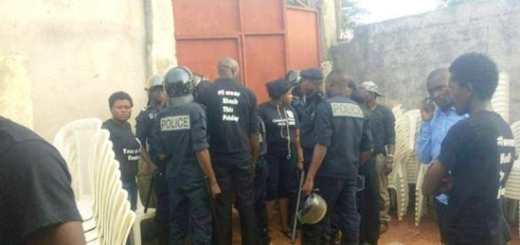 Arrestations abusives des membres du CPP