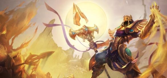 Azir, el Emperador de Shurima.