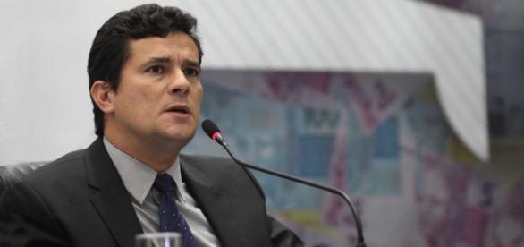Juiz Federal Sérgio Moro discursando