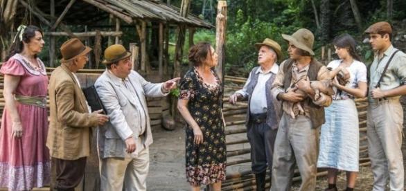 Núcleo caipira da novela da Globo vem chamando muita atenção