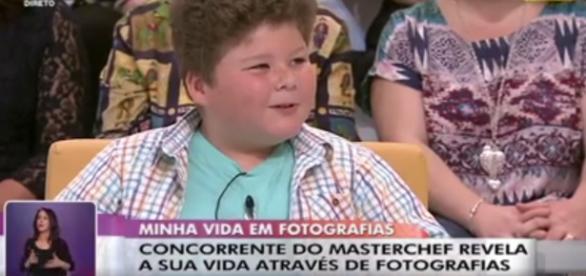 O pequeno Pedro Jorge esteve à conversa com Cristina Ferreira