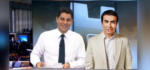 Padre Fábio de Melo e Evaristo Costa agitam as redes sociais