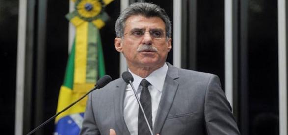 Romero Jucá, ministro implicado.