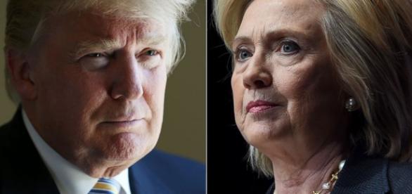 Trump e H.Clinton i due probabili avversari alle prossime presidenziali USA