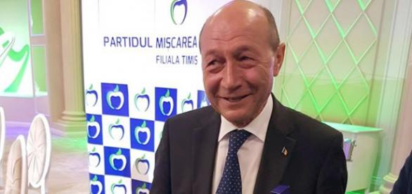 Fostul președinte al României, Traian Băsescu. Foto: Facebook