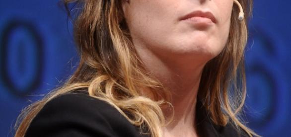 Il Ministro Maria Elena Boschi.