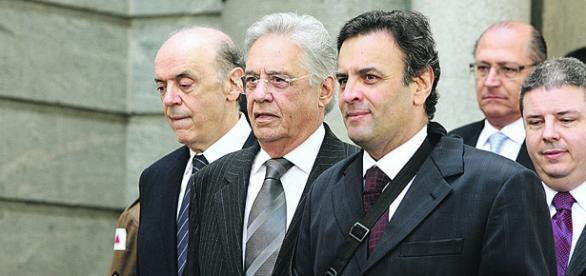 José Serra (primeiro à esquereda na foto) assumiu o Ministério das Relações Exteriores no Governo Temer (Fonte: Gazeta do Povo)