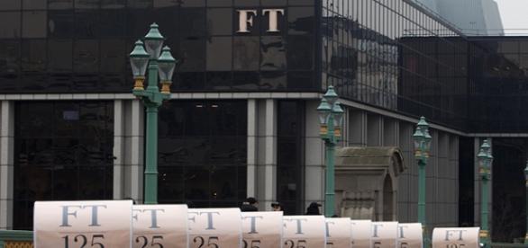 La fachada del Financial Times