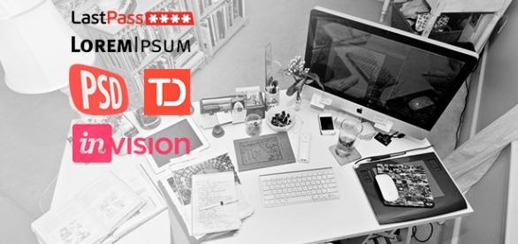 Las 5 herramientas que todo diseñador debe conocer: invision, lastpass, psdcovers, todoist, loremipsum
