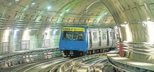 Metrô terá funcionamento especial na Rio-2016 (Fonte: O Globo)