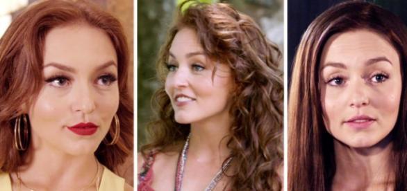 Na trama, Angelique Boyer interpreta três irmãs gêmeas.