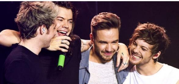 Niall Horan com a banda One Direction