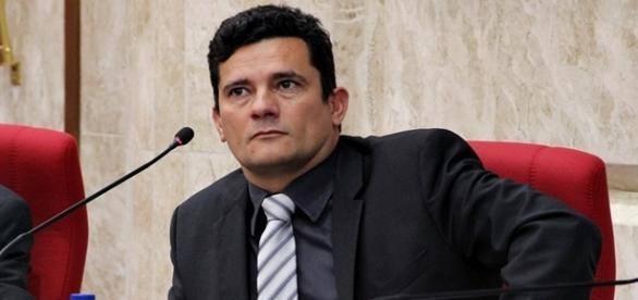 O juiz Sérgio Moro esteve em evento na capital paulista