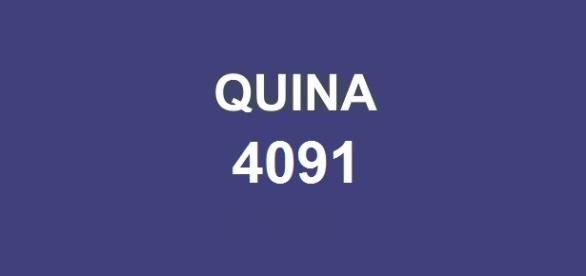 Primeiro sorteio realizado nessa semana; Resultado da Quina 4091 anunciado pela CAIXA.