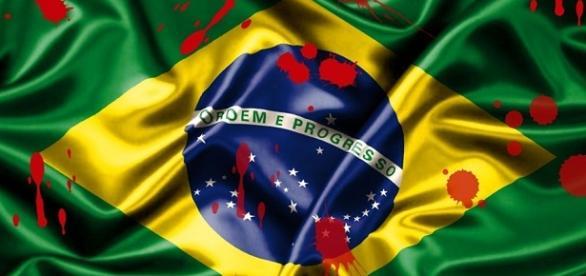 A bandeira do Brasil diz 'Ordem e Progresso', mas o cenário atual está muito longe disso.