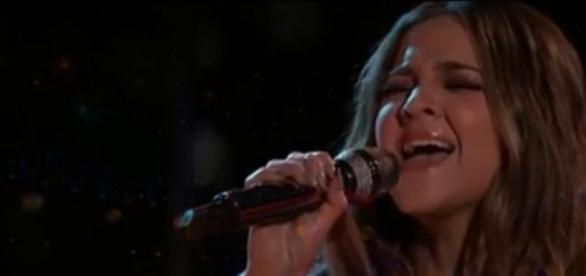 Alisan Porter vencedora do The Voice (Foto/ Reprodução redes sociais)
