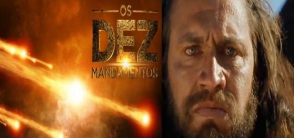 """Deus manda chamas de fogo em """"Os Dez Mandamentos"""""""