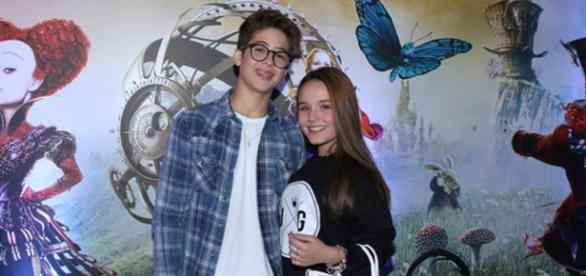 Larissa Manoela e João Guilherme no filme de 'Alice'