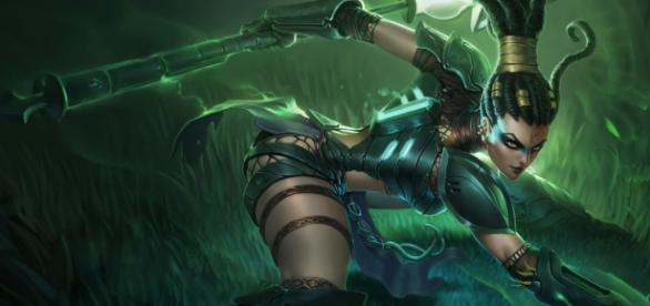 Nidalee, campeona de League of Legends