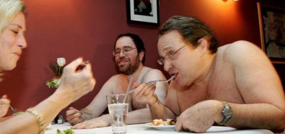 Restaurante nudista em Londres