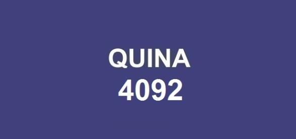 Segundo sorteio da semana! Resultado da Quina 4092 divulgado hoje, dia 24.