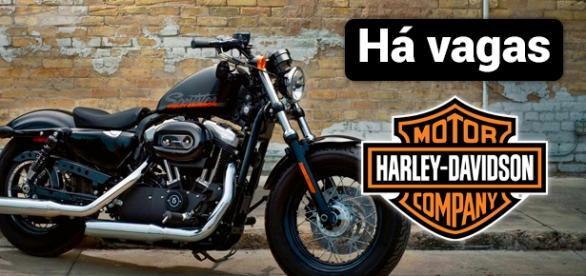 Vagas na Harley-Davidson. São 97 oportunidades abertas.
