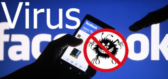 vírus podem roubar suas informações pessoais.