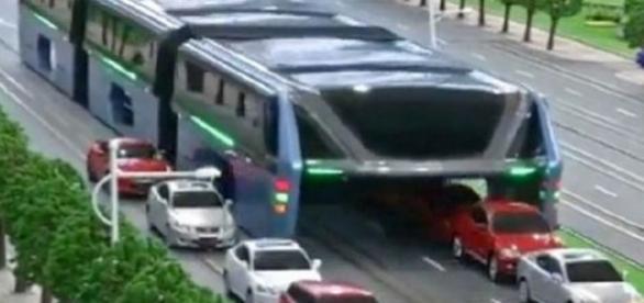 Autobuzul viitorului, conceptul futurist și nepoluant al unui inginer din China