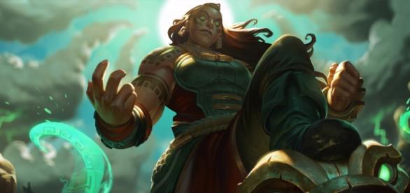Illaoi, campeona de League of Legends.